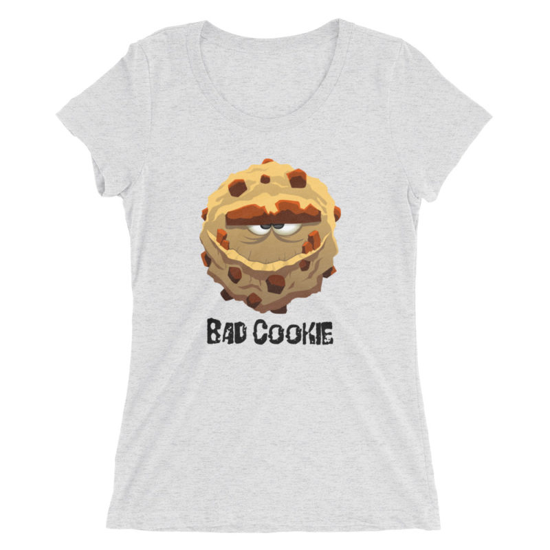 Bad Cookie Short Sleeve T-shirt for Women