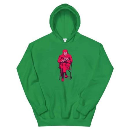Bernie Sanders Hoodie Mittens gloves Mem Sweatshirt / Unisex Size mem mittens pop art