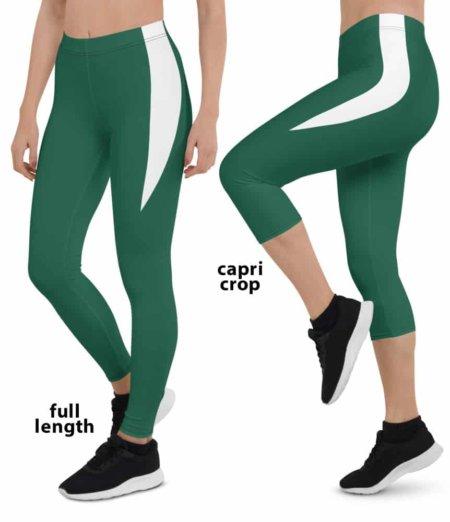 2020 New York Jets Game Day Football Uniform Leggings