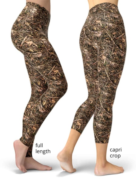 Branches & Twigs Realistic Camouflage Leggings camo pants