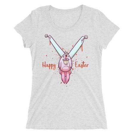 Dead Bunny Easter Short Sleeve T-shirt for Women
