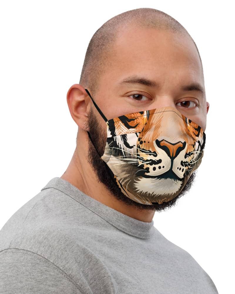 Big Cat Tiger Face Protective Face Mask Tigress