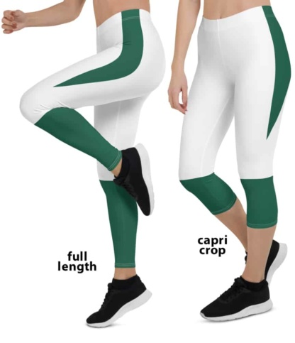2020 New York Jets Game Day Football Uniform Leggings