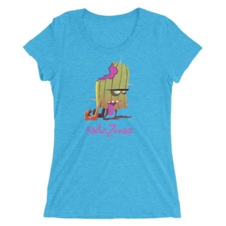 Cactus Zombie T-shirt / Women's Short Sleeve Top