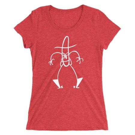 Cowboy Stickman T-shirt / Short Sleeve Tee