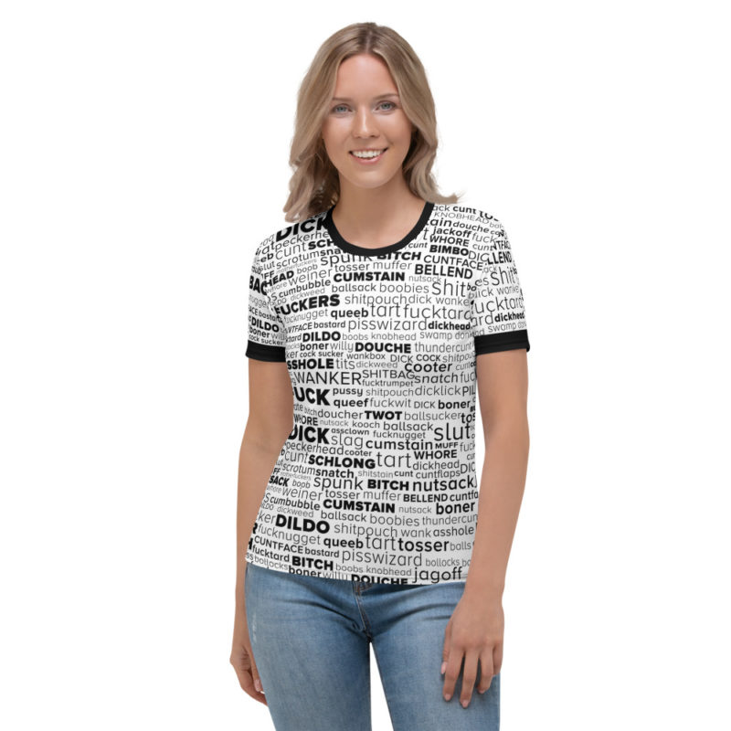 English Swear Words - Women's Short Sleeve Tshirt