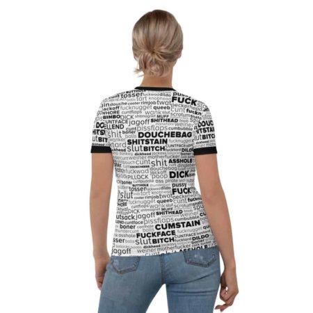English Swear Words - Women's Short Sleeve Tshirt