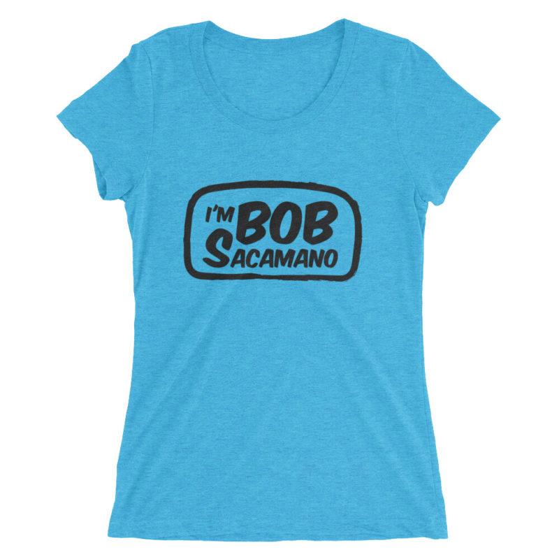 I'm Bob Sacamano Seinfeld Scoop Neck T-Shirt / Women's Short Sleeve