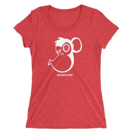 Monkey Kiss T-shirt / Women Short Sleeve Top