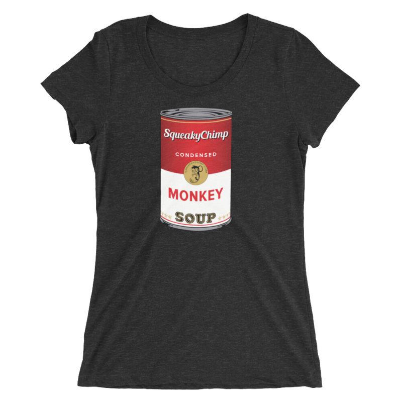 Monkey Soup Can T-shirt / Women's Short Sleeve Top