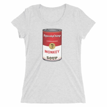 Monkey Soup Can T-shirt / Women's Short Sleeve Top