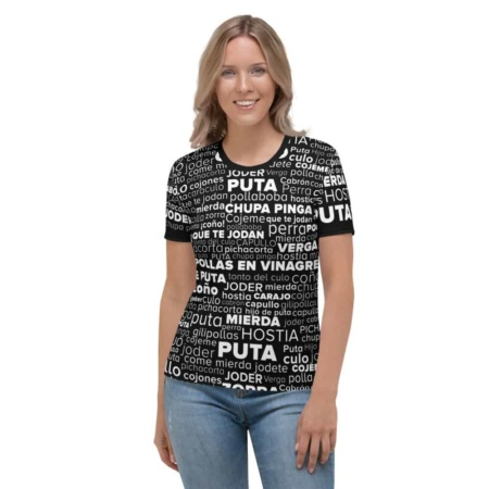 Spanish Swear Words - Women's Short Sleeve T-shirt