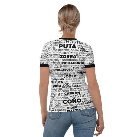 Spanish Swear Words - Women's Short Sleeve T-shirt