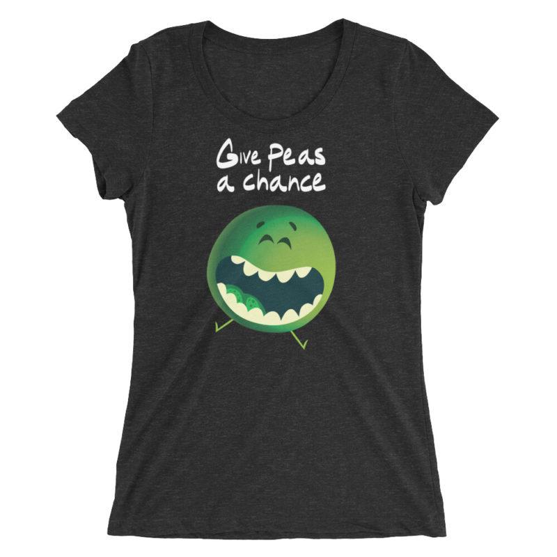 Give Peas A Chance T-shirt / Women's Short Sleeve Top