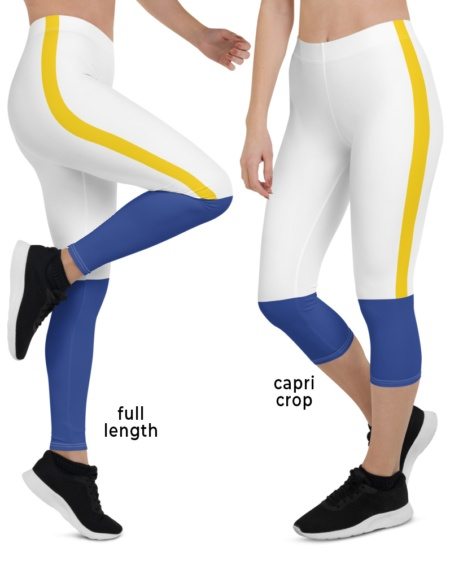 LA Los Angeles Rams Ram uniform NLF Football Leggings for Tailgating Parties
