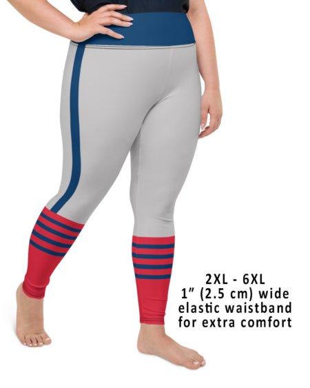 Cleveland Indians Uniform Baseball Game Leggings plus size