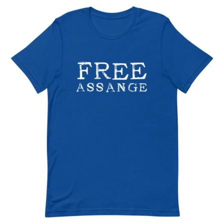 Free Julian Assange T-shirt - Men's Short Sleeve T-shirt
