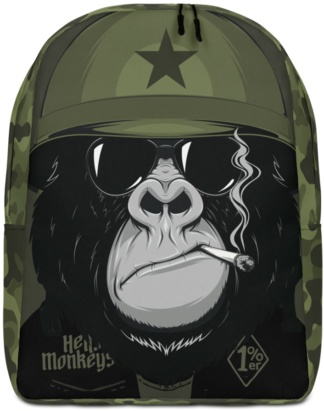 Military Biker Great Ape Backpack