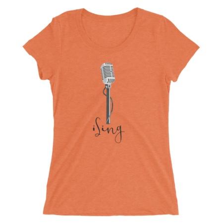 I Sing / Women's Short Sleeve