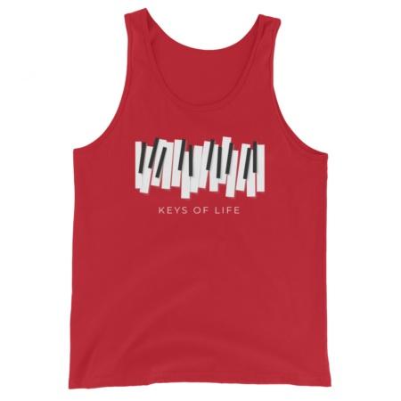 Piano Keys Of Life - Unisex Tank Top music musician