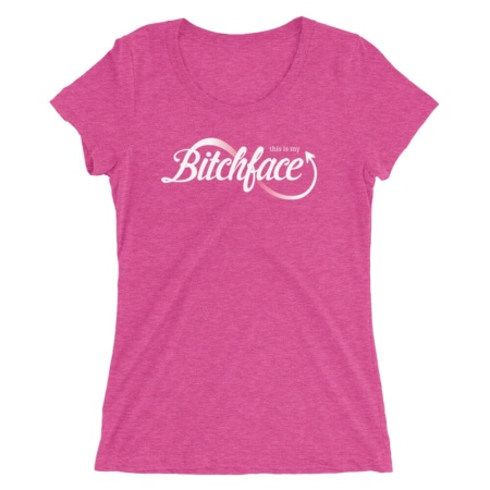 This is my resting Bitchface T-shirt / Women's Short Sleeve Top
