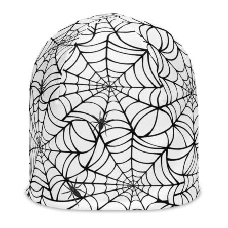 Spider Web Beanie Halloween Hat