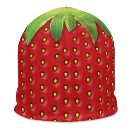 Fresh Fruit Halloween Costume Strawberry Beanie Hat