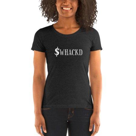 $WHACKD Short-Sleeve Women's T-Shirt John McAfee Murdered Killed Prison