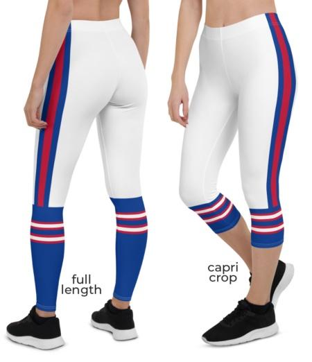 NY New York Buffalo Bills uniform NLF Football Leggings for Tailgating Parties
